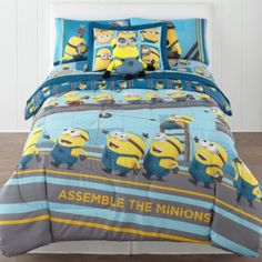 Despicable Me Industrial Minions Reversible Twin/Full Comforter Set & Accessories  found at @JCPenney