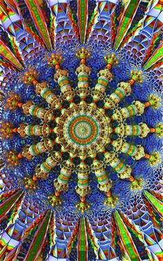 ❤~ Mandala ~❤ Fractales