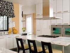 Explore HGTV's beautiful pictures of kitchen island designs for ideas and…