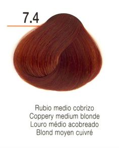 Ruivo médio cobre / Louro médio cobre #Hedheads #Ruivas