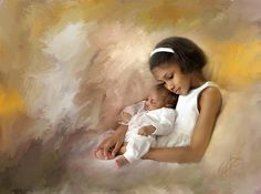 Mother's Helper by Richard Ramsey (American) | I AM A CHILD