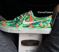 Nike SB Janoski Low-Lizard Camo (Summer 2014) Preview