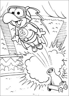muppets coloring pages 10