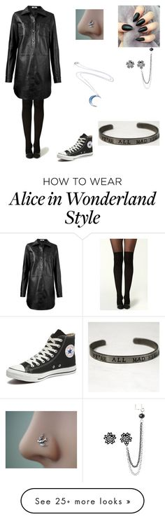 """""""Untitled #145"""" by ifunicornscouldfly on Polyvore featuring HIDE and Converse"""