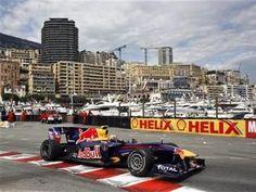 Mark Webber won an eventful 2010 Monaco Grand Prix driving for Red Bull-Renault.