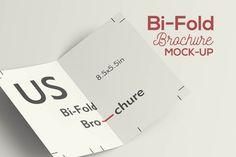 Free Bi-Fold Brochure Mockup