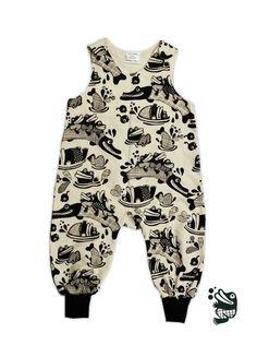 jumpsuit mister Pike   100% organic cotton Punainen Norsu Organic Cotton, Jumpsuit, Rompers, Kids, Dresses, Fashion, Overalls, Young Children, Vestidos