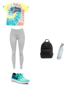 """""""Campus"""" by tamera-calhoun on Polyvore featuring NIKE, Billionaire Boys Club, Rip Curl and S'well"""