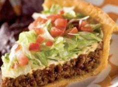 Healthy Taco Pie Recipe - Yum!!! must make this :D