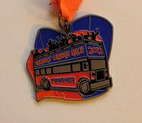 Great Urban Race 2012 medal
