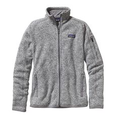 Birch White, size medium Patagonia Women\'s Better Sweater\u00AE Fleece Jacket - Birch White BCW