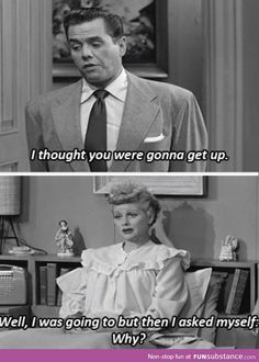 I miss the I Love Lucy show. Lucy and Ethel were so funny! On the wish list for my hubby. I Love Lucy, My Love, Look Here, Look At You, Doug Funnie, Mau Humor, Funny Quotes, Funny Memes, Quotes Pics