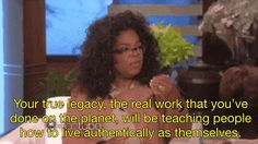 That other time Oprah paid Ellen the highest compliment about her life's work. | 17 Times Ellen And Oprah Gave Us Squad Goals