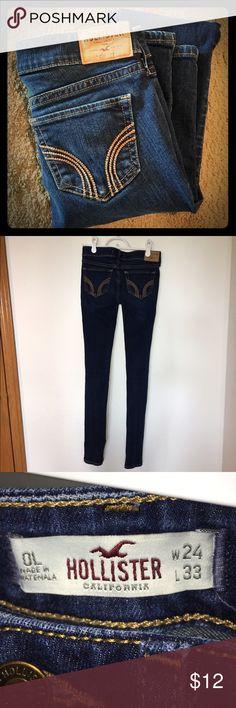 Hollister jeans Hollister skinny jeans. No damage. Size W24 L33. Hollister Bottoms Jeans