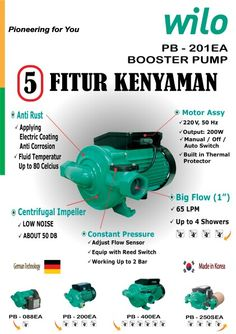 Wilo booster pump the number 1 booster pump from korea
