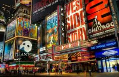 Tour New York City and attend a Broadway Play.