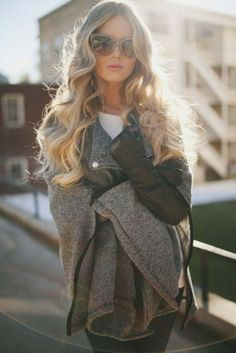 #winter #fashion / gray