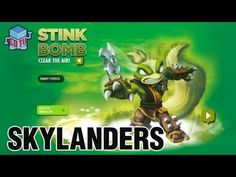 Skylanders Swap Force Stink Bomb Combinations #skylanders #toys #collecting
