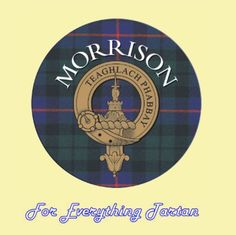 For Everything Genealogy - Clan Morrison Clan Crest Tartan Cork Round Coasters Set of 2, $12.00 (http://foreverythinggenealogy.mybigcommerce.com/clan-morrison-clan-crest-tartan-cork-round-coasters-set-of-2/)