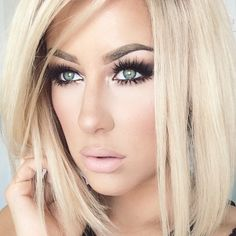 Make up for blondes