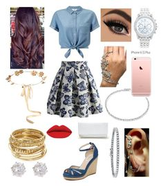 """""""A Beautiful Day Out"""" by aryannaaaa on Polyvore featuring Chicwish, L.K.Bennett, Eugenia Kim, Miss Selfridge, ABS by Allen Schwartz, Suzanne Kalan, Mike Saatji, BERRICLE, Lane Bryant and River Island"""