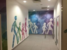 Creative toilet signs for a Mall.