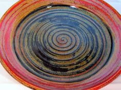 Pottery Platter Serving Dish Handmade by LaurenBauschOriginal, $22.00