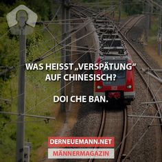 Verspätung auch Chinesisch? #derneuemann #humor #lustig #spaß