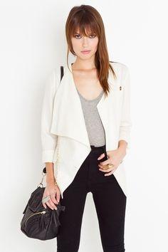 On Point Linen Jacket - StyleSays