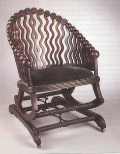 George Hunzinger Platform Rocker Industrial Revolution; Patent Furniture  http://quizlet.com/4364928/victorian-industrial-revolution-patent-flash-cards