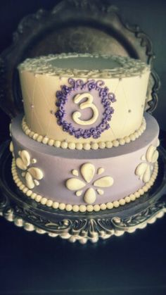 Sofia the First birthday cake by Flourish Confections