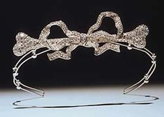 diamond and platinum tiara by Cartier, 1904. © The Trustees of the Late Lord Howard of Henderskelfe.