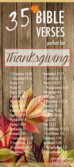 35 bible verses thanksgiving