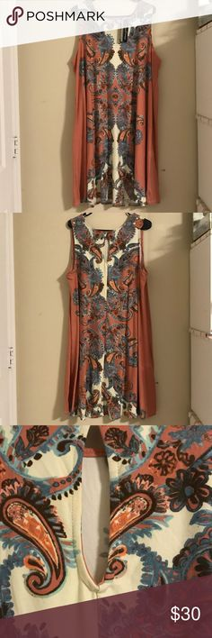 NWT 1x Allison Brittany dress Beautiful NWT Allison Brittany dress ,this dress is absolutely gorgeous it has a  flattering pattern and is flowy and comfortable! Allison Brittney Dresses