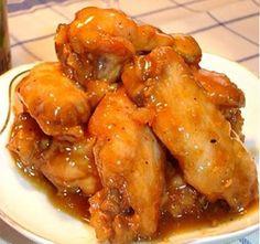 Pollo al horno con miel y mostaza