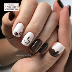 In search for some nail designs and some ideas for your nails? Here's our list of must-try coffin acrylic nails for fashionable women. Pink Nail Art, Cute Nail Art, Gel Nail Art, Acrylic Nails, Manicure Nail Designs, Nail Manicure, Nail Art Designs, Nail Art Hacks, Hair And Nails