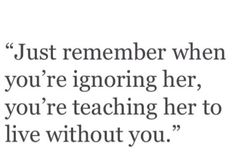 Just remember that