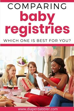 There are so many baby registries, each with different features. Find out how they compare and which one is best for you #babyregistry #babyshower #momtobe Baby Registry, Announcement