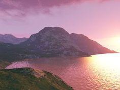 pink lake africa | Travel through Africa: Pink Lake is really bright pink!