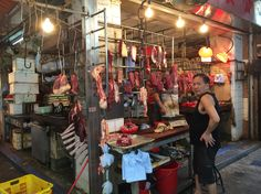 Wan Chai Market butcher shop - Hong Kong Sites: Wan Chai Market | A Life Shift