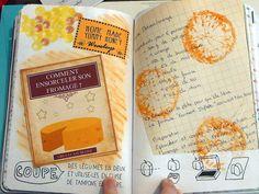 Saccage ce carnet - Coupe des légumes en 2 et utilise-les en guise de tampons…