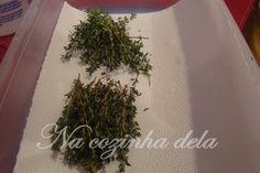 Como conservar ervas