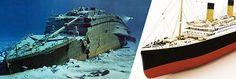 TITANIC EM FOCO: Redescoberta do Titanic em 1985 e situação atual