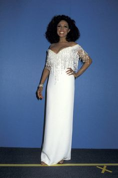 The always elegant Diahann Carroll, 1986