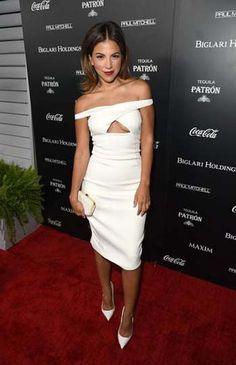 Access Hollywood co-host Liz Hernandez slipped into a sleek Cushnie et Ochs dress and Christian Louboutin heels for the Maxim Hot 100 Women of 2014 Celebration.