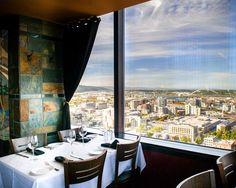 Take in the view at Portland City Grill.