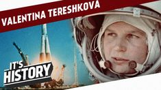 Valentina Tereshkova was the first woman in space. As a citizen of the Soviet Union she became a symbol of defeat to the West during the Space Race. Valentina Tereshkova, Important Inventions, Space Race, Sound Design, Cold War, Girl Scouts, First World, Youtube, The Outsiders