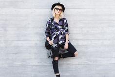 mikuta in her camouflage shirt