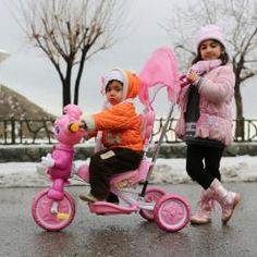 hony (7) Beautiful sight to behold, the siblings in pink during winter!