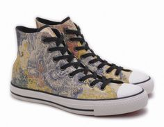 Converse All Star Chucks UE 42 UK 85 year of the Dragon Pelle Limited Edition